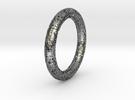 LACE bracelet. in Polished Silver