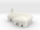 1/600 Village House 3 in White Strong & Flexible