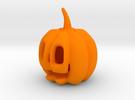 Jack-o'-lantern in Orange Strong & Flexible Polished