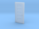 "Miniature 1:48 5 Panel 30"" Door in Frosted Ultra Detail"