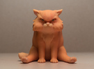 Garfi - The angry cat in Full Color Sandstone