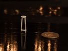 """1:48 42"""" Simple Stool in White Strong & Flexible"""