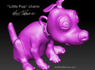 PupCharm in Frosted Ultra Detail