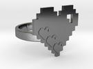 Moms Ring in Premium Silver