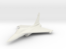 Rafale French Jet Fighter 1/285 scale in White Strong & Flexible