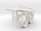 OpenROV V2.6 Inner Structure in White Strong & Flexible