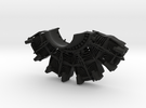 RC Faux Radial Engine_TOP in Black Strong & Flexible