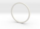 F1 Nozzle Ext Ring 1:36 in White Strong & Flexible