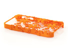 Escher Reptiles iPhone 4 / 4s Case in Orange Strong & Flexible Polished