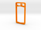 IPhone 5/5S in Orange Strong & Flexible Polished