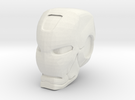 Ironman Helmet in White Strong & Flexible