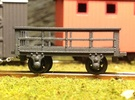 5x FR type 3t Slate Wagons (009) in Frosted Ultra Detail