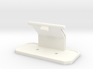 Plate Stand in White Strong & Flexible Polished