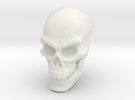 Pirate Skull in White Strong & Flexible