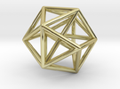 DATA IN EXILE — Tessellate / Sphere in 18K Gold Plated