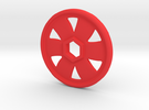 Replacement disc for Fisher Price Imaginext - Sing in Red Strong & Flexible Polished