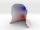 Graph colored by Gauss Curvature in Full Color Sandstone