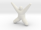Exerciser in White Strong & Flexible