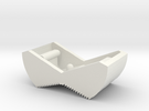 Switch Cover, Klixon 20TC (v0.6) Textured Front in White Strong & Flexible