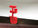 CCTV Surveillance clip - Macbook Air in Red Strong & Flexible Polished