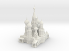 St Basils Cathedral  in White Strong & Flexible