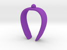 Paper towel Clip in Purple Strong & Flexible Polished