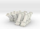1:48 scale MK 36 SRBOC Chaff Launchers in White Strong & Flexible
