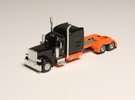 1:160 N Scale Peterbilt Custom 389 Tractor in Frosted Ultra Detail