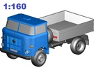 W50 Allrad-Kipper / 4WD Dumper (N, 1:160) in Frosted Ultra Detail