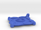 Batik Pendant in Blue Strong & Flexible Polished