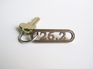 26.2 Marathon Keychain - Better than a car decal! in Stainless Steel