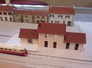 Station Large - Roof,Doors + Windows - N - 1:160 in Frosted Ultra Detail