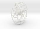Trefoil torus knot in White Strong & Flexible