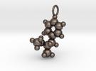 Methamphetamine Pendant 25mm (large loop) in Stainless Steel