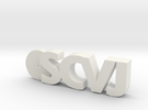 SCVJ Swag in White Strong & Flexible