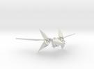 Starfox ArWing in White Strong & Flexible