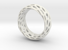 Trous Ring Size 4.5 in White Strong & Flexible