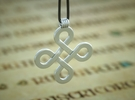 Celticknot Pendant in Polished Silver