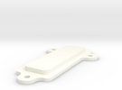 Mounting Plate Screen Clamp in White Strong & Flexible Polished