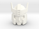 Prowl G1 Head 12mm  in White Strong & Flexible Polished