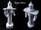 Roger Retro in Metallic Plastic