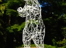 Young and Foolish Wireframe - 40cm in White Strong & Flexible