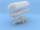 1/1000 Caravel Airship in Frosted Ultra Detail