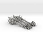 Cannon (Heavy) - Qty (2) HO 1:87 scale