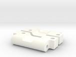 NIX63602 HD Rear Arm Mounts for RC10 (0deg/0deg)