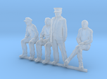HO scale Figures 4 pack