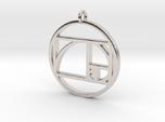 Golden Ratio Spiral Pendant