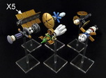 Spaceships (10 pcs) - High Frontier