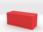20 Foot Container (1:200 scale, hollow)