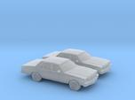 1/160 2X 1982-85 Chevrolet Impala Sedan